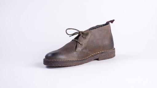 desert boot wally walker in pelle e suola in para