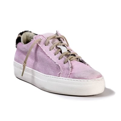 Sneaker donna Raphael tessuto old rose