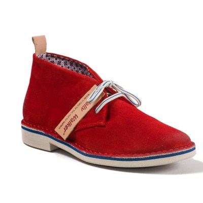 desert boot estivo Gable color rosso