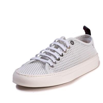 Sneaker uomo Piuma rete bianco