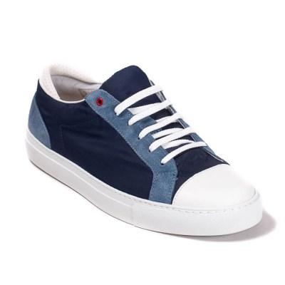 sneaker donna Roland nylon navy-0564
