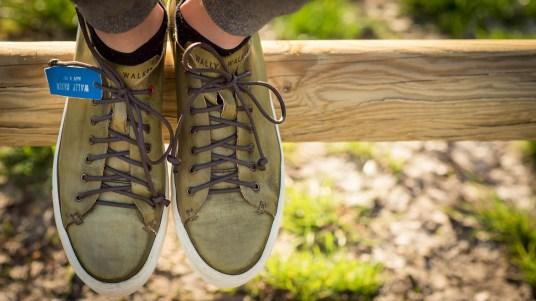 scarpe sportive sneaker pelle