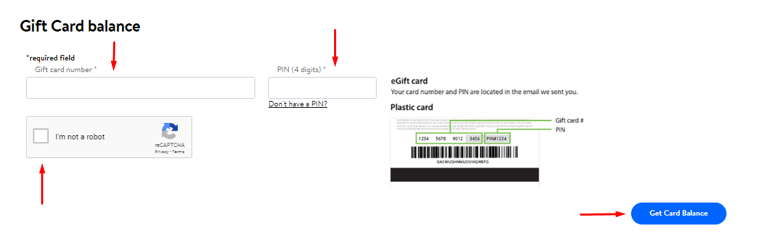 walmart gift card registration