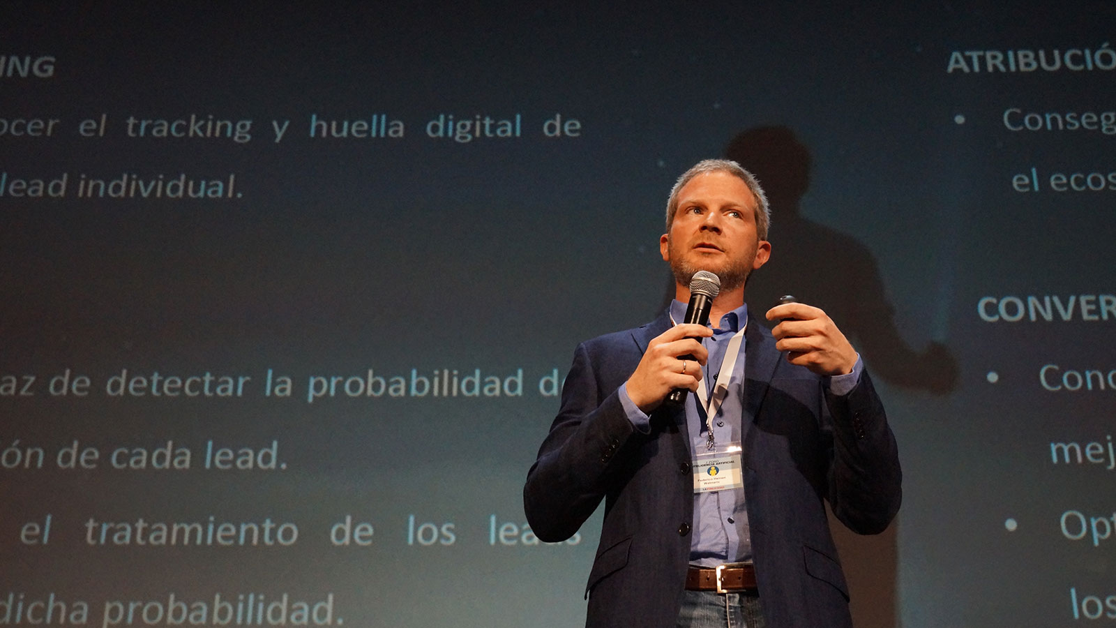 Federico Heinen, Product and Innovation Director at Walmeric, in Foro IA