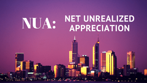 NUA net unrealized appreciation
