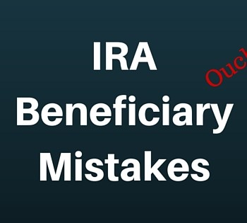 beneficiary mistake