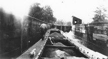 Lockport-boat-loaded-with-coal-in-Lock-27