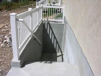 Basement Walkouts Orem Utah Walrap Unlimited Concrete Specialists | Precast Basement Stairs Cost | Spiral Staircase | Walkout Basement Entrance | Concrete Products | Finished Basement | Bilco Doors