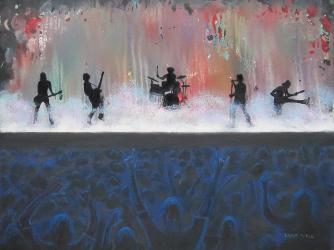 Image result for painting of concert