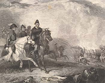 Field of Waterloo, engraved by Henry Chawner Shenton after Abraham Cooper, 1834 (Corson A.5.ILL./2)