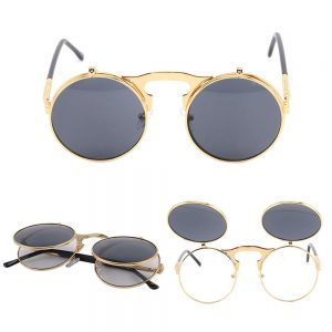 Retro and Vintage Clubmasters – Style – Clubmasters – Semi-rimless Glasses – CLEAN LENS – NO PRESCRIPTION – Essential Daily Accessories – Suitable with all outfits – UNISEX – Brand New