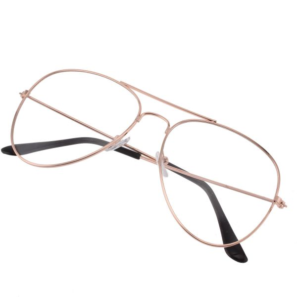 RoseGold - Aviator Glasses 4