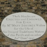 Almshouses inscription 350