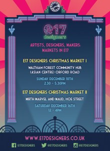 E17 Designers Christmas Market I @ Waltham Forest Community Hub (Asian Centre)