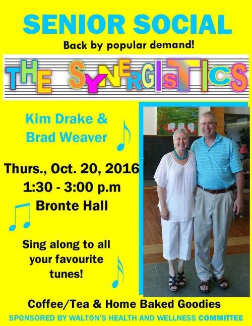 Synergistics @ Walton United Church, Oakville, Ontario