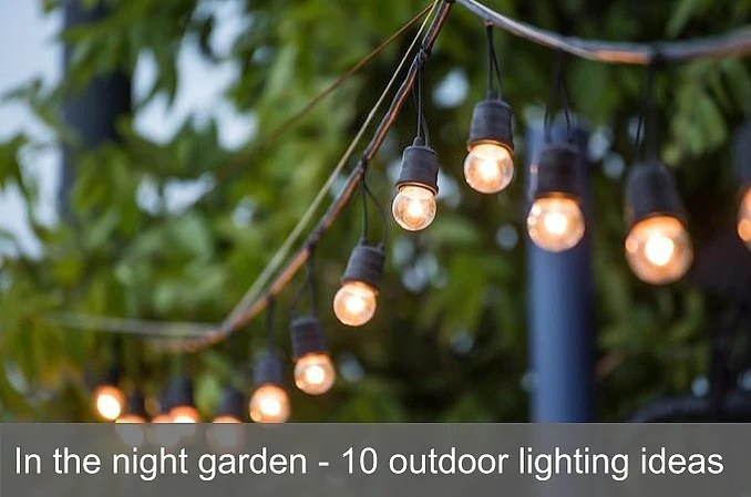 10 outdoor lighting ideas