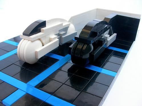 Tron Lego Art 4 Cool Tron Lego Art Will Take You Back to the 1980s