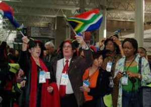 South Africans make their mark.