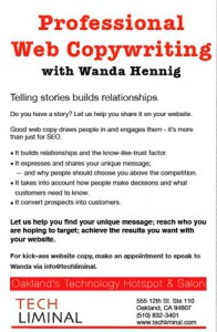 Web Copywriting by Wanda Hennig