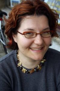 Anca Mosoiu, inspiring Oakland web whiz.