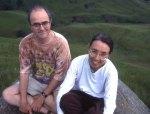 Zen teachers Stephen and Martine Bachelor.