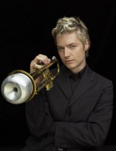 Chris Botti plays July 11, 2009 with the San Francisco Symphony.