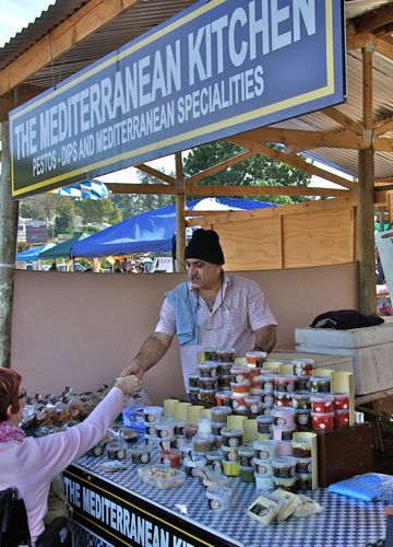 Dino Constantinou at the Shongweni Market