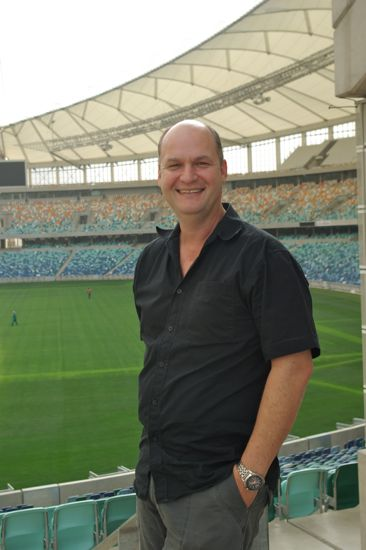 Moses Mabhida Stadium lead architect Gerhard le Roux.