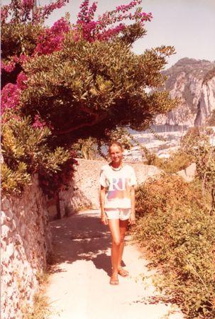 Isle of Capri vista.