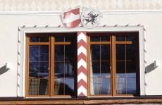 Hotel Fassade detail Fenster