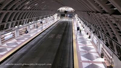 Seattle, WA light rail station wandasknottythoughts.com