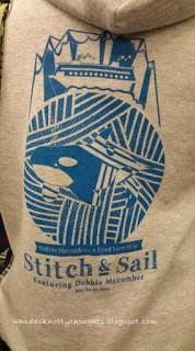 Stitch and Sail on the cruise   wandasknottythoughts.com