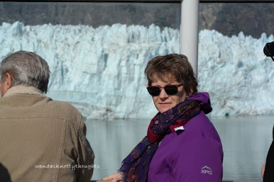 At Glacier Bay in Alaska on wandasknottythoughts.com