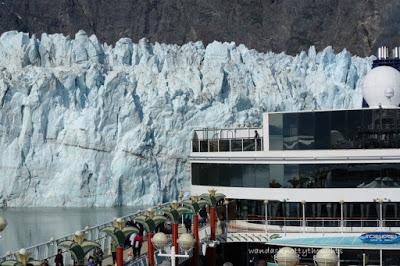 Margerie Glacier in Glacier Bay on wandasknottythoughts.com