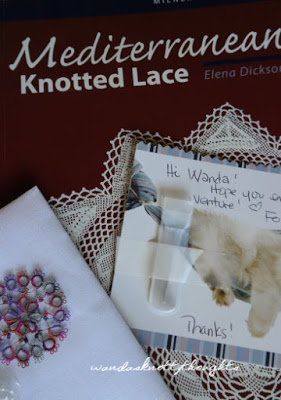 Mediterranean Knotted Lace book from Fox wandasknottythoughts