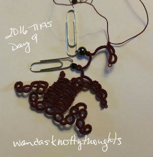 Day 9 of Jane Eborall's 2016 TIAS from wandasknottythoughts