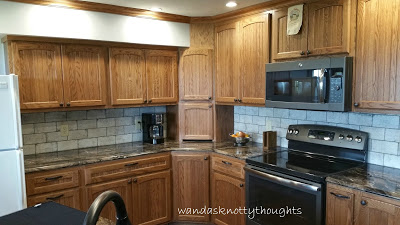 New kitchen cabinets wandasknottythoughts