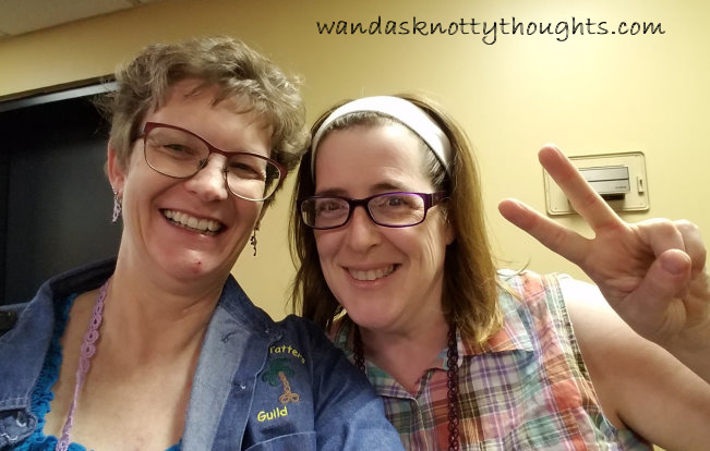 Karen, aka IsDahara, was able to come to Tat Days on wandasknottythoughts.com