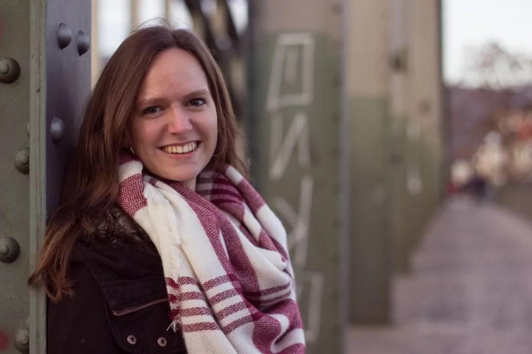 Portrait Annika Brücke Pfeiler Fluchtpunkt