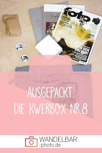 Unboxing: Das war in der #Kwerbox Nr.8