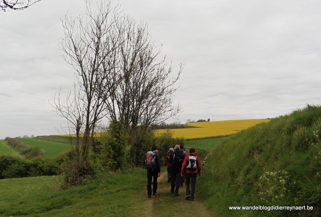 23 april 2017: Frévent-Hesdin (GR121) (29 km)
