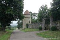 duiventoren bij het kasteel van Saint-Andeux