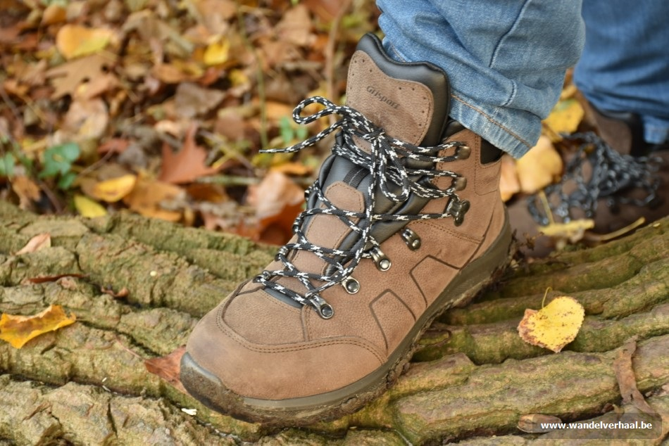 grispost wandelschoenen