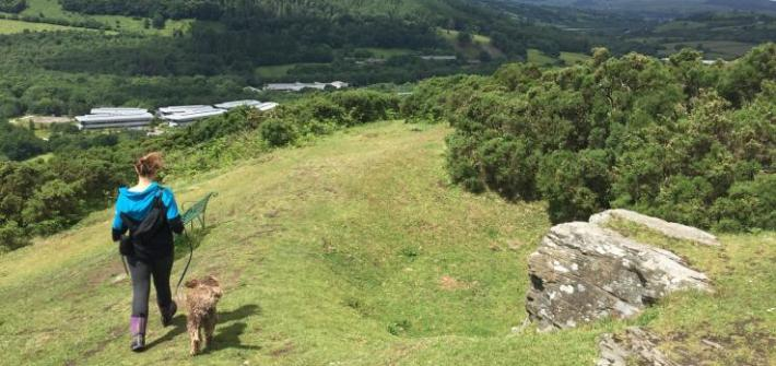 wandelroutes wales