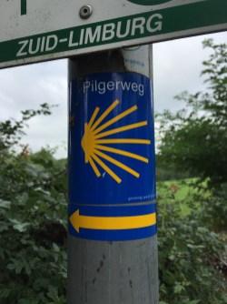 Pelgrimroute = Pilgerweg in Limburgs