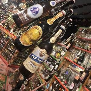 Bierflaschensammlung