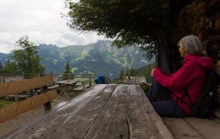 Pause bei der Karseggalm
