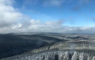 Fernblick nach Oberhof