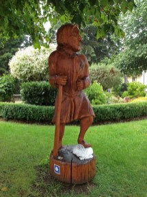 Pilgerfigur in Fischbach