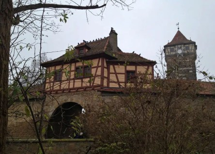 Das Roedertor in Rothenburg